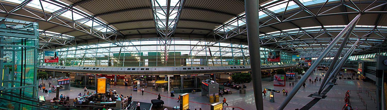 Terminal van Düsseldorf Airport
